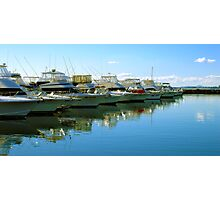 Port Stephens Marina Photographic Print