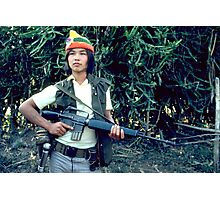 Rebel soldier Photographic Print