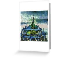 Temple City Revisited Greeting Card
