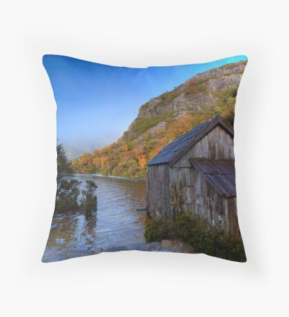 The Boatshed Throw Pillow