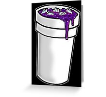 Purple Drink Greeting Card