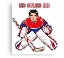Carey Price Canvas Print