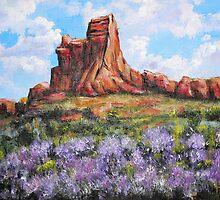 Red Rock by Pamela Plante