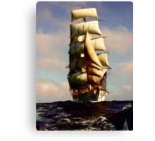 Tall Ship Painting Canvas Print