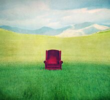 Red Chair by Corin Jones