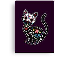 Dia de los Gatos Canvas Print