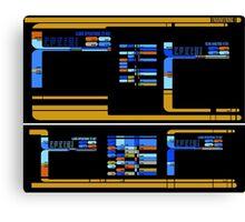 Star Trek TNG: Console Panel Canvas Print