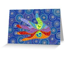 Earth Lover Greeting Card