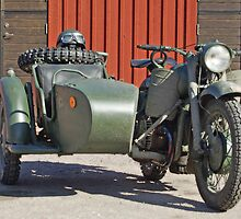 Dnepr military motorcycle by Paola Svensson