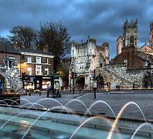 Botham Bar Gate York England by John Hall