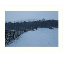 Winter at Penn Hill Art Print