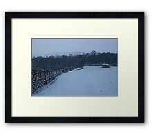 Winter in the Yorkshire Dales Framed Print