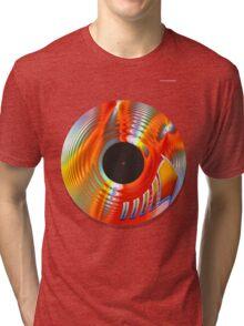 Vintage Turntable Tri-blend T-Shirt