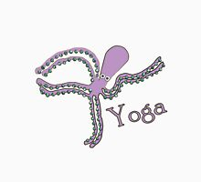 Octopus doing Yoga - Cosmic Dancer Womens Fitted T-Shirt