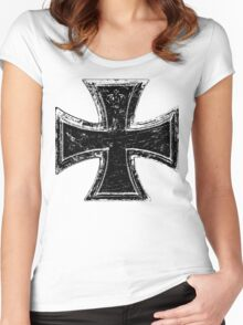 Iron Cross Women's Fitted Scoop T-Shirt
