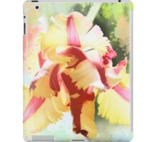 Water colour Parrot tulip iPad Case/Skin