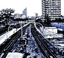 Eastern suburbs railway by Alex Howen