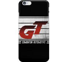 Edmonton Auto - Red & White iPhone Case/Skin