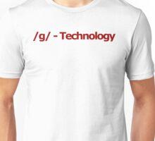 /g/ - Technology 4chan Logo Unisex T-Shirt