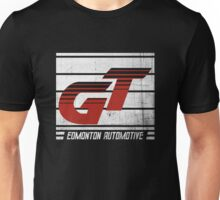 Edmonton Auto - Red & White Unisex T-Shirt