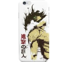 Attack on Titan - Bauklötze iPhone Case/Skin