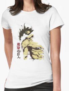 Attack on Titan - Bauklötze Womens Fitted T-Shirt