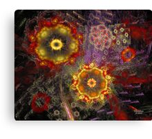 'Strange Bouquet' Canvas Print