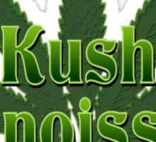 KUSH CONNOISSEUR Sticker