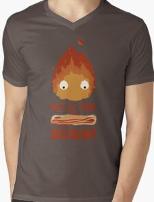 May all your BACON BURN!! Mens V-Neck T-Shirt