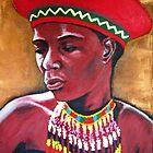 Ndbele Woman by Louise Henning
