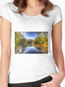 The Mirror Pond Women's Fitted Scoop T-Shirt