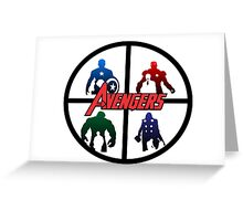 Avengers: Age of Ultron Greeting Card