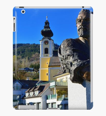 Bust of Gustav Klimt iPad Case/Skin