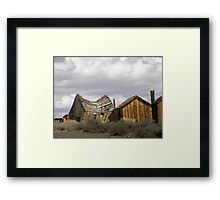"""""""Goodbye God! We are going to Bodie.""""  Framed Print"""