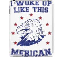 Woke Up American iPad Case/Skin