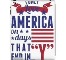 Love America iPad Case/Skin