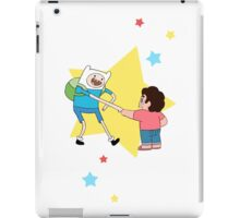 Finn meets Steven! iPad Case/Skin