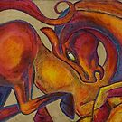 The Red Horse by Lynnette Shelley