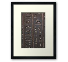 Archaeology is sexy Framed Print