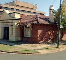 NSW Fire Station-Albury by Larry  Grayam