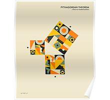 PYTHAGOREAN THEOREM PROOF BY REARRANGEMENT Poster