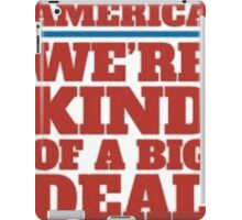 Big Deal iPad Case/Skin