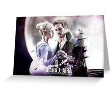 Captain Swan Greeting Card