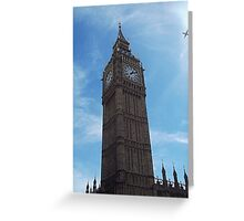 Big Ben strikes 13:10 Greeting Card
