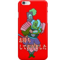 I had been waiting for you,sir iPhone Case/Skin