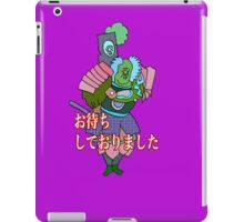 I had been waiting for you,sir iPad Case/Skin