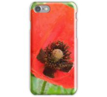 Cruciform Sign of the Poppy iPhone Case/Skin
