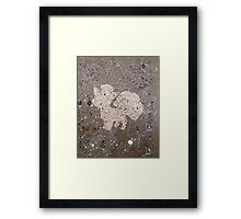 Who's That Pokemon? Vulpix!  Framed Print