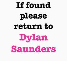 If found please return to Dylan Saunders Men's Baseball ¾ T-Shirt