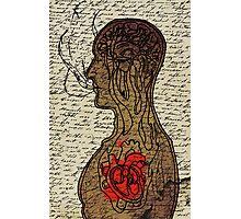 Heart Cooks Brain Photographic Print